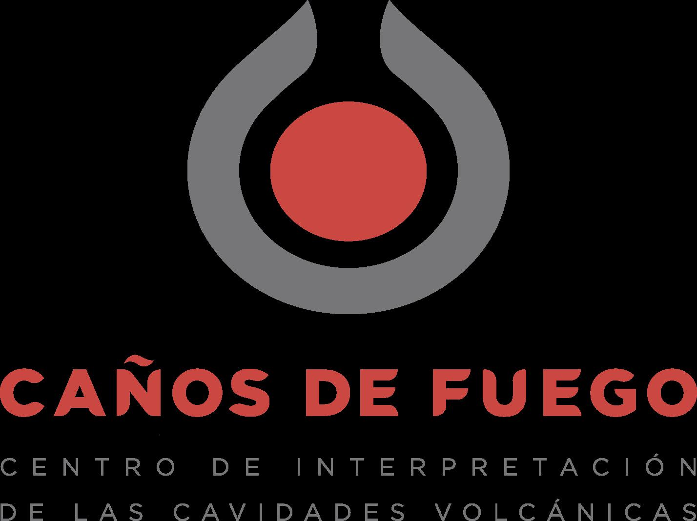 Logotipo Caños de Fuego - La Palma